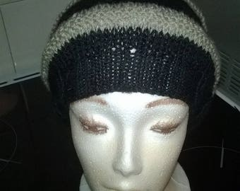 Handknitted Hat mixed fantasy