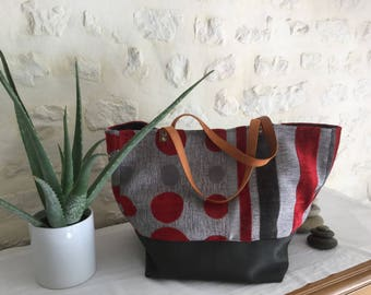 Tote bag, large fabric tote bag, shopping bag XXL
