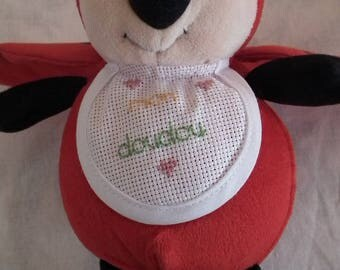Hand embroidered Red Ladybug