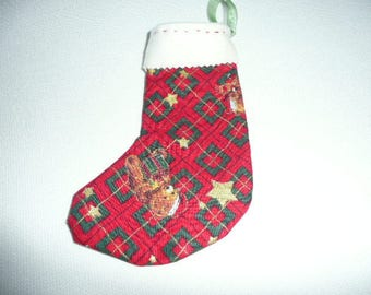 little red boot Christmas Decor