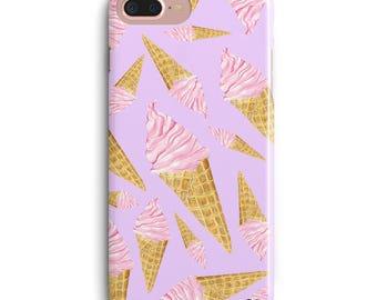 Sweet Sweet Icecream Cute iPhone X Case Cute iPhone 7 Plus Case Cute iPhone 8 Plus Case Cute iPhone 6 Plus Case, Girl iPhone 8 Plus Case