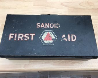 Vintage Sanoid FIRST AID KIT Ministry of Aviation 50s from family collection