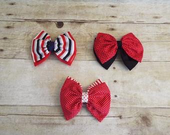 Hair bow, girls hair bow, girls accessories, girls hair acessories