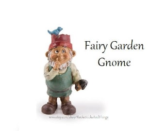 Fairy Garden Gnome, Miniatures