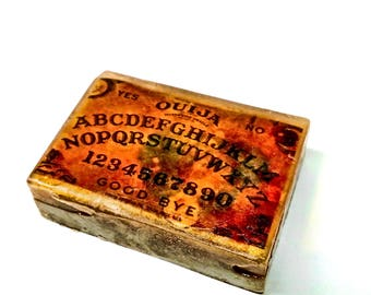 Soap Ouija Board Planchet Seance Creepy Witch Horror Goth Soaps Scary Demon Ghost Gothic 4.5 oz Scented in Fireside