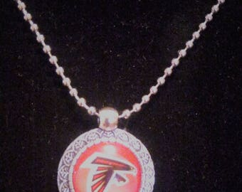 Atlanta Falcons Necklace Pendant Jewelry With Chains Necklace