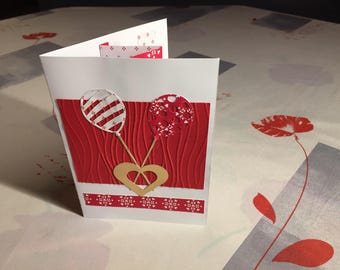 """A small card for the """"love"""""""