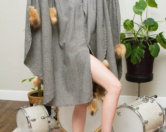 Coyote Tail Poncho