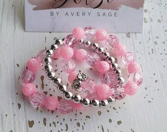 Beaded Stackable Bracelets