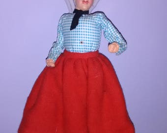Unusual European Male doll figure