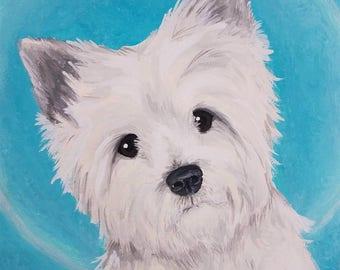 Pet Portraits on Paper