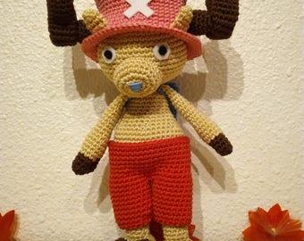 Amigurumi Tony Tony Chopper, from One Piece