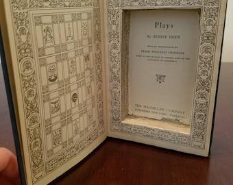 Blue Hollow Book Box