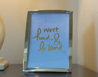 Framed Quotes Etsy