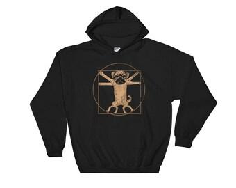 Pug Hoodie - Funny Pug Sweatshirt - Pug Hoodies - Pug Owner Gifts