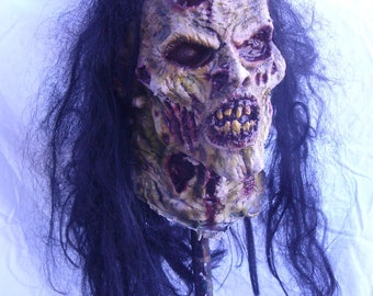 Rot zombie half mask.