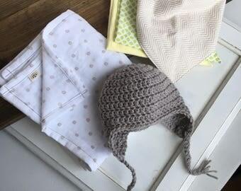baby gift set, baby shower gift, gender neutral baby gift