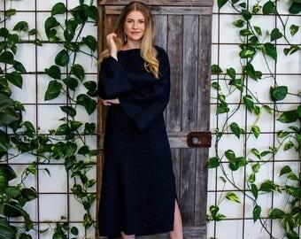 Abundance Linen Maxi Dress