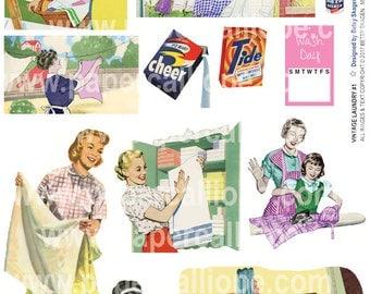 PaperCalliope - Vintage Laundry #1