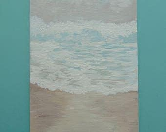Freed - Acrylic Ocean Painting