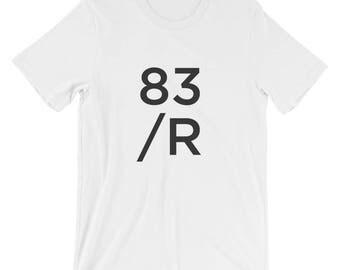 original 83/R tee