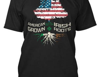 American Grown Irish Roots Tee
