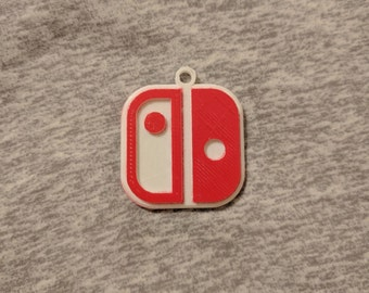 Nintendo Switch Logo Keychain