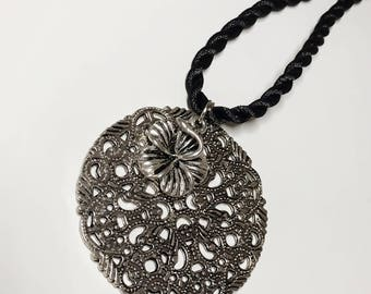 Hand-made Silver Necklace