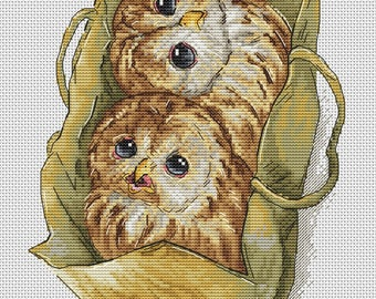 "Cross stitch pattern ""Surprise"""