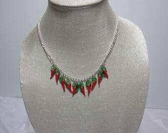 Cayenne Pepper Necklace