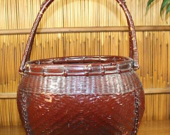 Antique Japanese Basket