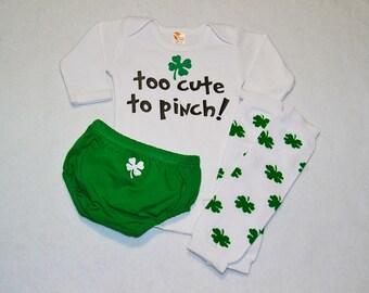 saint patricks day baby outfit -  baby boys saint patricks day outfit - baby boys my first st patricks day - st patricks day boy outfit