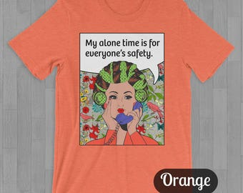 Alone Time Tee