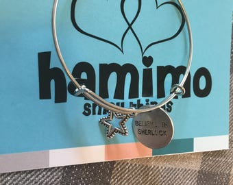 "Hamimo Star Bracelet Collection: ""Believe In Sherlock"""