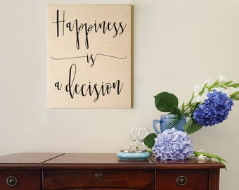 Inspirational wood sign, distressed wood sign, wood home wall décor, wood sign sayings, quote signs, inspirational gift, wood wall decor