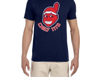 Chief Tito Cleveland Indians Terry Francona high quality T-shirt