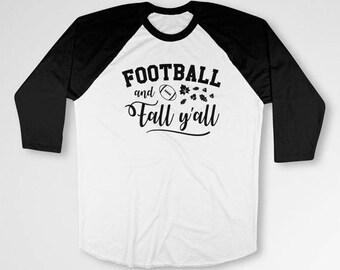 Funny Thanksgiving Shirt Holiday T Shirt Turkey Day Football TShirt Thanksgiving Clothes Holiday Outfit Baseball Raglan Tee TEP-439