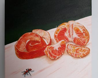 Satsuma with Red Ant