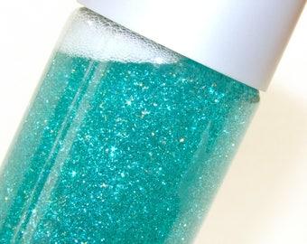 Teal Glitter Calm-Down Sensory Bottle Small