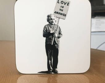 Banksy Coaster #40 - Banksy Gift - Banksy Coaster - Custom Coaster -Gift for Her - Gift For Him - Fridge Magnets - Banksy Magnet - Souvenir