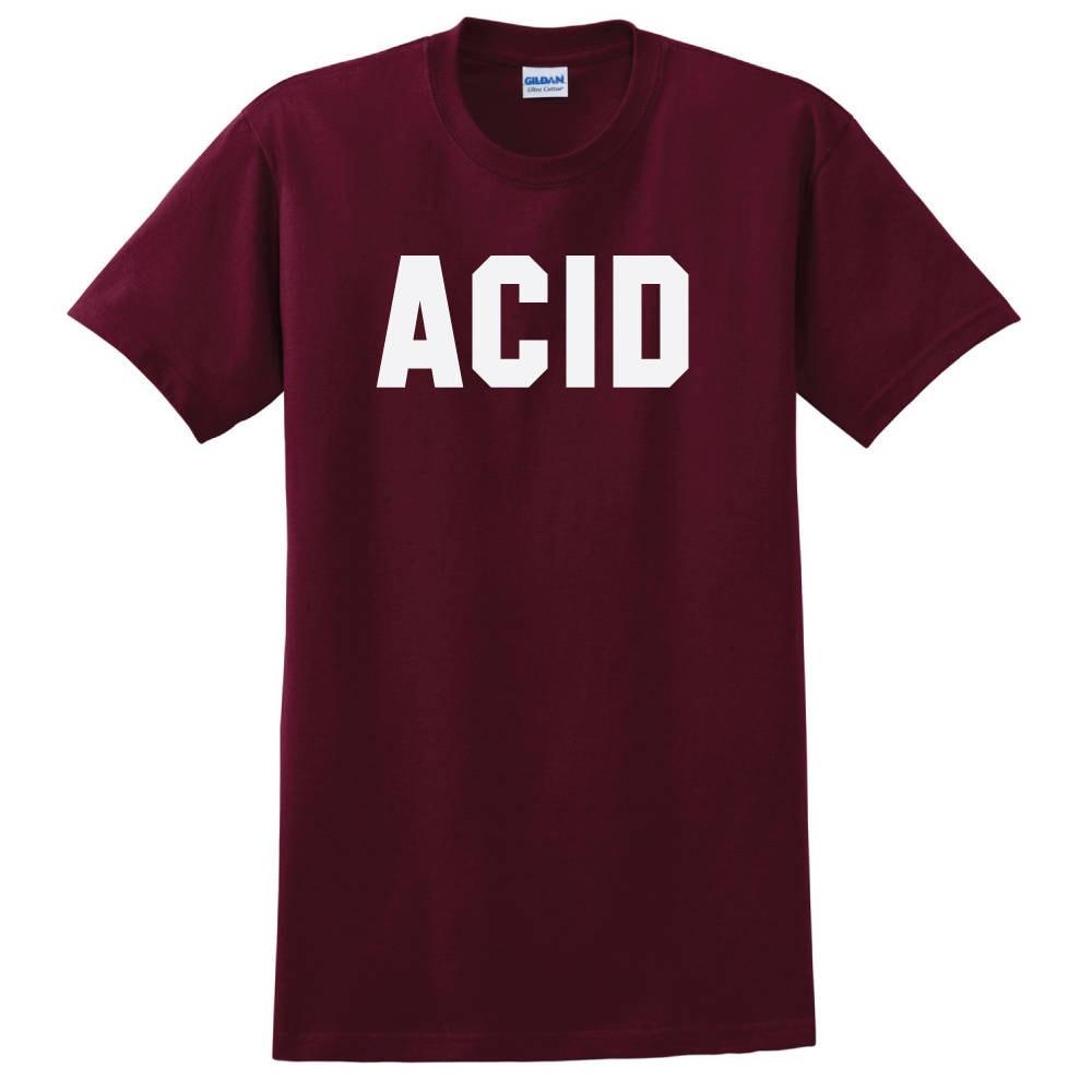 Acid t shirt electronic music techno house dnb acid techno for Acid electronic music