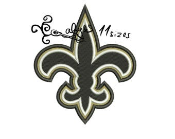 11 sizes in 10 formats! saints Fullfilled Embroidery design DIGITAL INSTANT DOWNLOAD