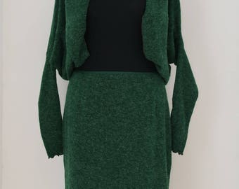 Open jacket of pasTouche size s in dark green