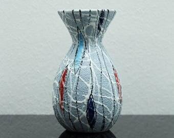 VINTAGE ITALIAN POTTERY Fratelli Fanciullacci ceramic vase italy