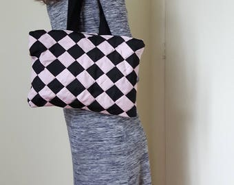 Bag With block pattern