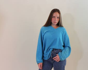 Baggy Blue Sweater