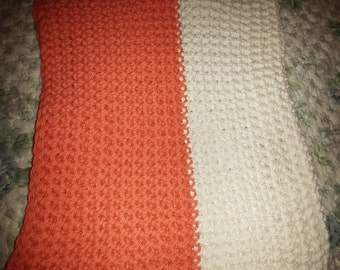 Double-thick cotton potholder.