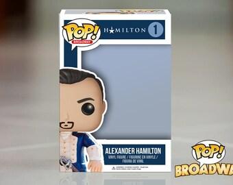 Alexander Hamilton Custom Funko Pop! Box
