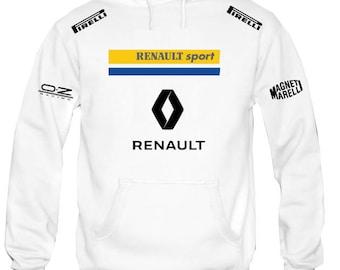 Sweatshirt Hoodie Hooded Renault Oz Racing Driver Sporting personalized