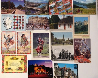 Vintage Scottish postcards